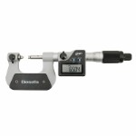 IP65 Digital Screw Thread micrometer 0-25 x 0,001 mm with interchangeable V-shaped and cone-shaped anvils