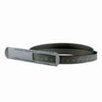 Steel measuring tape for circumference 60-950 mm and diameter Ø20-300 mm