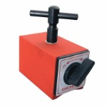 Magnetic base 100 kg force with M8 thread and handle