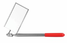 Inspection mirror 51 x 89 mm (square) max. length 480 mm