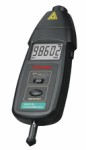 Digital Contact and Laser Tachometer Combined optical and mechanical measurement