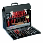 JUPITER Tool Bag in synthetic leather 420x250x160 mm, Volume 16,8L Model: 202.02