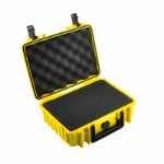 OUTDOOR case in yellow with foam insert 250 x 175 x 95 mm Volume: 4,1 L Model: 1000/Y/SI