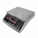 Counting scale capacity 6 kg / Readability 0,2g with LED display